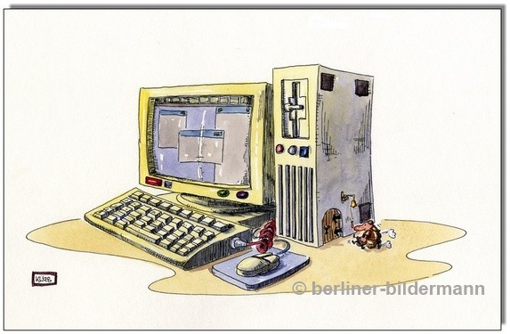 """Tower"" / Cartoon 1998"