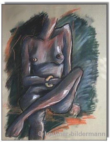 1989 / 49,5×63,0 cm / Pastellkreide auf Ingrespapier