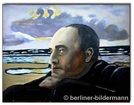 """""""Max Beckmann""""/ 1988/ Öl auf Leinwand"""
