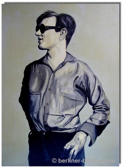 """""""Andy Warhol"""" Mitteltafel/ 1987/ Öl auf Leinwand"""
