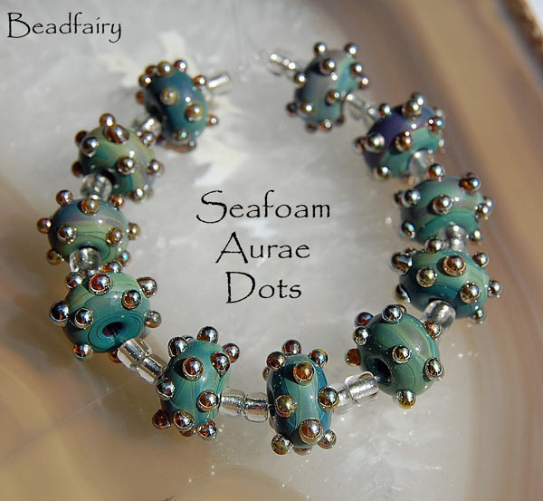 10 seafoam aurae dots