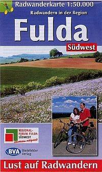 Radwanderkarte Fulda Südwest