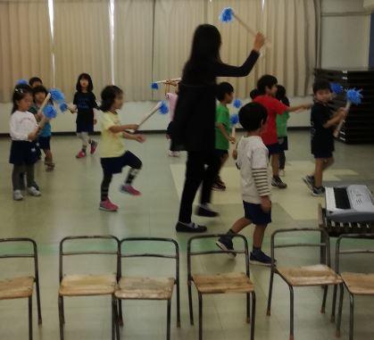 ハロウィン リトミック 幼稚園 どれみ音楽教室