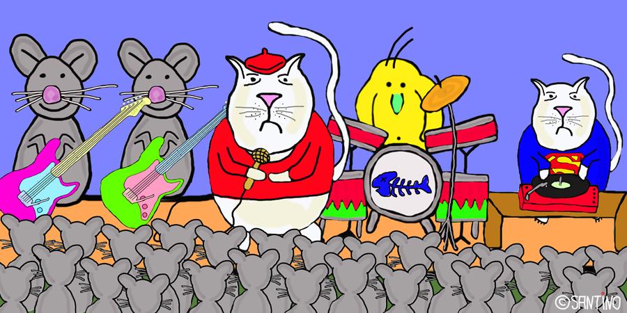 Mit seinem Song Katzenjammer schaffte Oli einen Platz in die Charts.....und in die Herzen seiner Fans