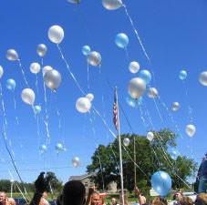 Luftballon-Flug-Karten
