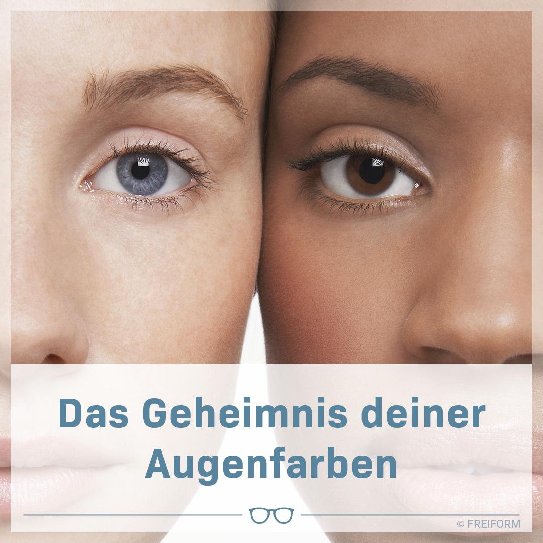 Das Geheimnis deiner Augenfarbe
