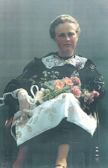 1982 - Pascaline Carmes Reine de Cornouaille
