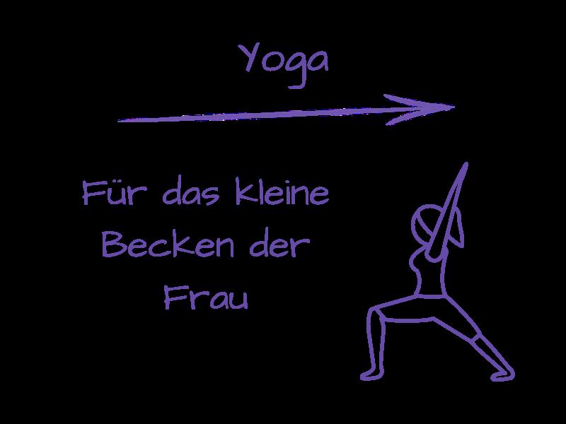 Yoga  - für das kleine Becken der Frau