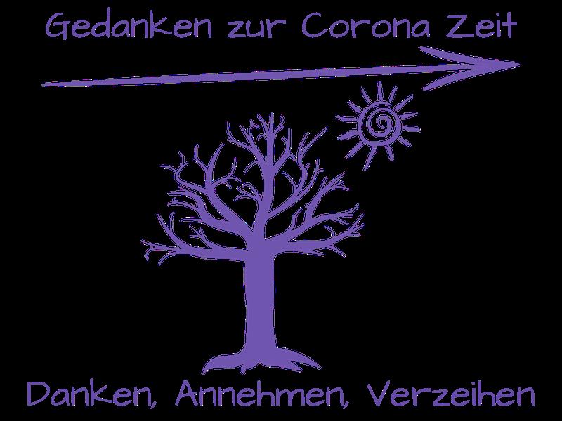 Corona: Danken, Annehmen und Verzeihen