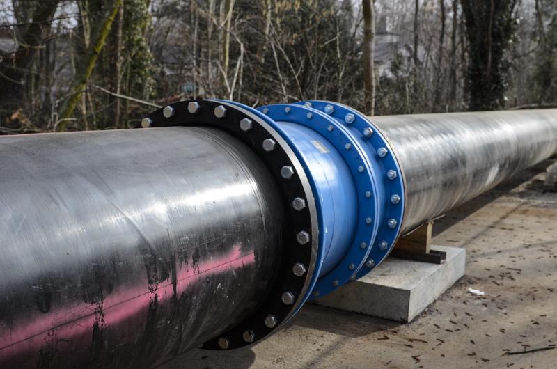 Trinkwasser Ersatzleitung, mit einem Durchmesser von 800mm