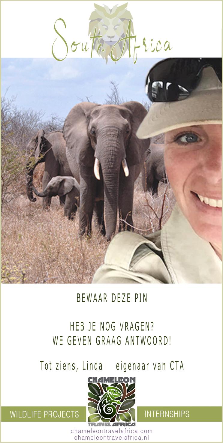 Chameleon Travel Afrika eigenaar Linda