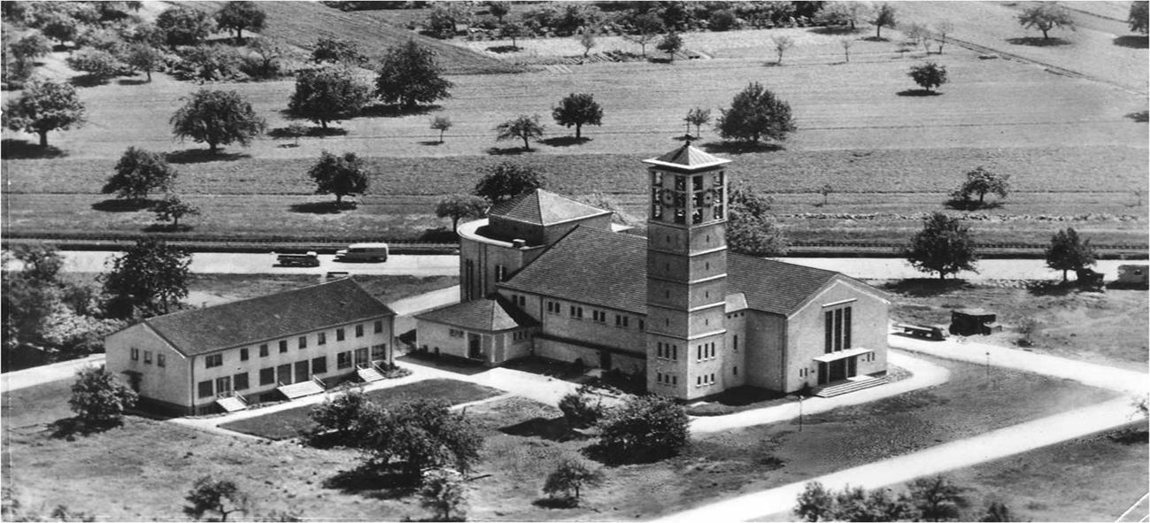 St. Marien in den 50-iger Jahren