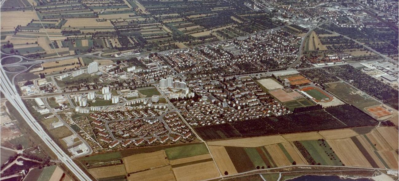 Weststadt in den 70iger Jahren