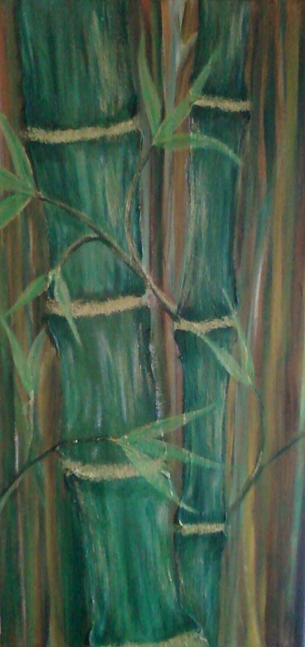 Acryl und Ölfarbe auf Leinwand