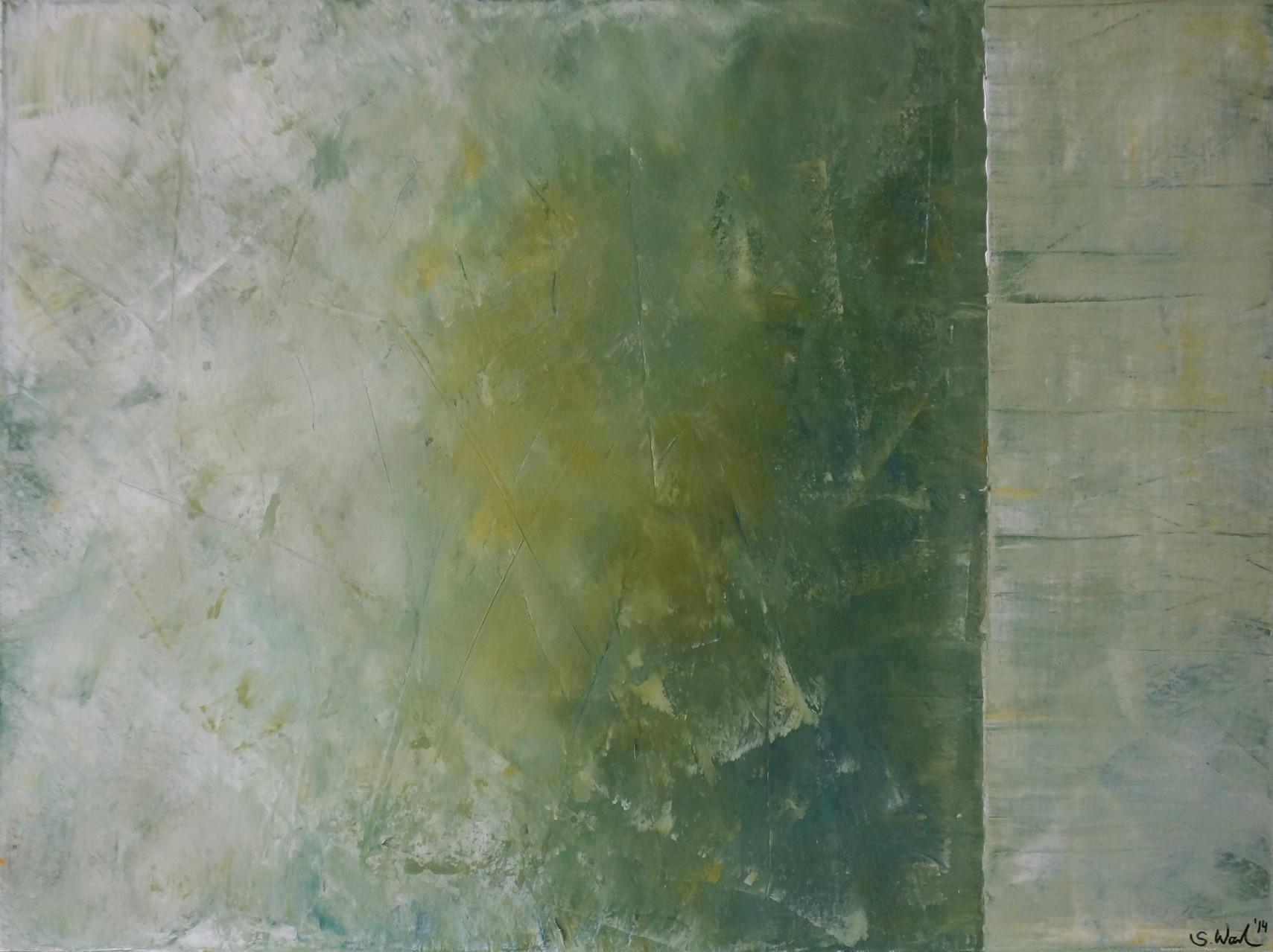 Acryl auf Leinwand, Spachteltechnik - 60x80