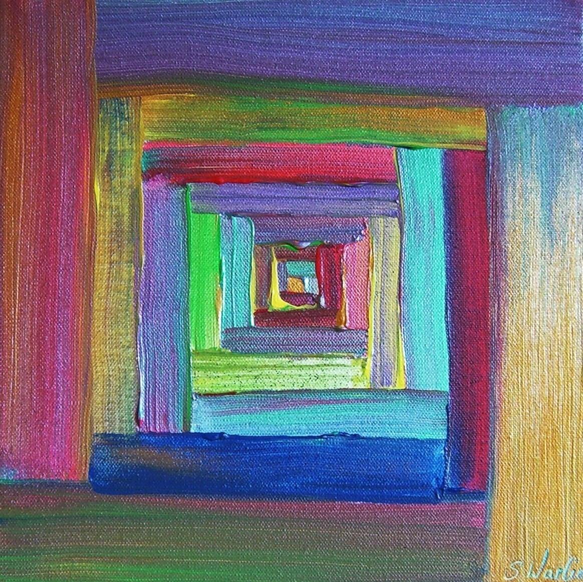 Acryl auf Leinwand - 40x40