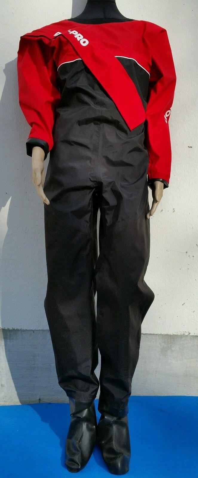 Trockenanzug Dry Fashion Dry-Pro - Edition TFS - rot/schwarz