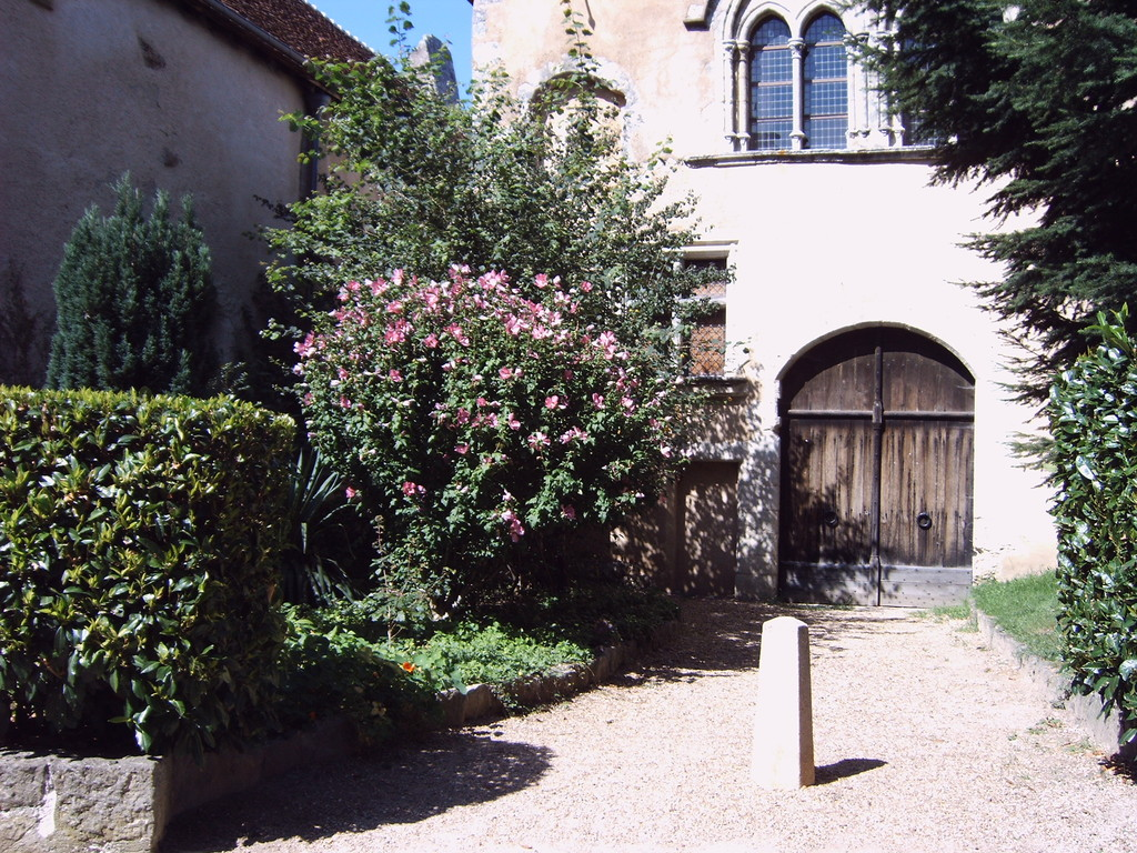Jardin cité médiévale Mennetou sur cher