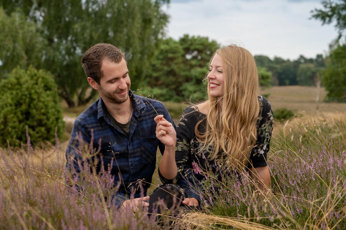 Paar Shooting in der Westruper Heide
