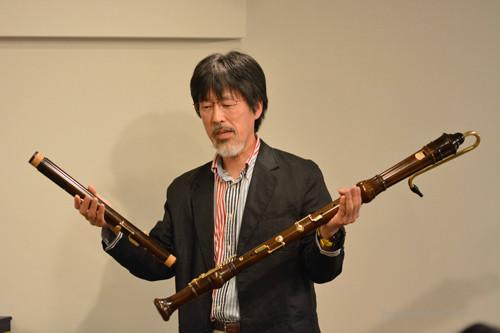 秋山滋氏'(竹山木管楽器製作所)