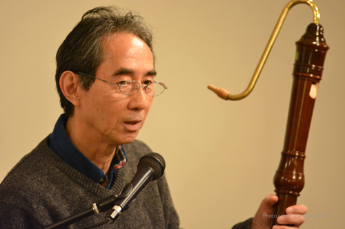 山岡重治氏 (竹山木管楽器製作所)