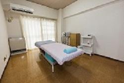癒絡堂の施術室