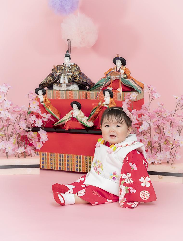 ひな祭りキャンペーンはスタジオ夢物語札幌で受付中