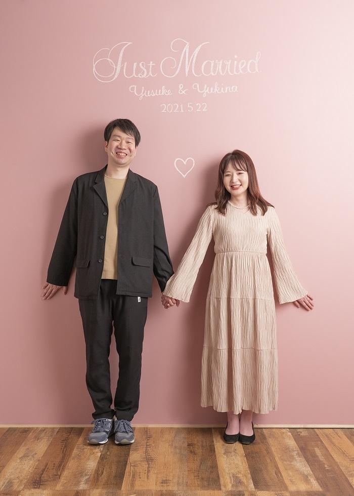 スタジオ夢物語札幌 結婚記念