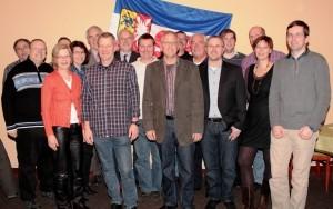 Bild:Die Kandidaten der CDU Schenefeld für die Kommunalwahl 2013