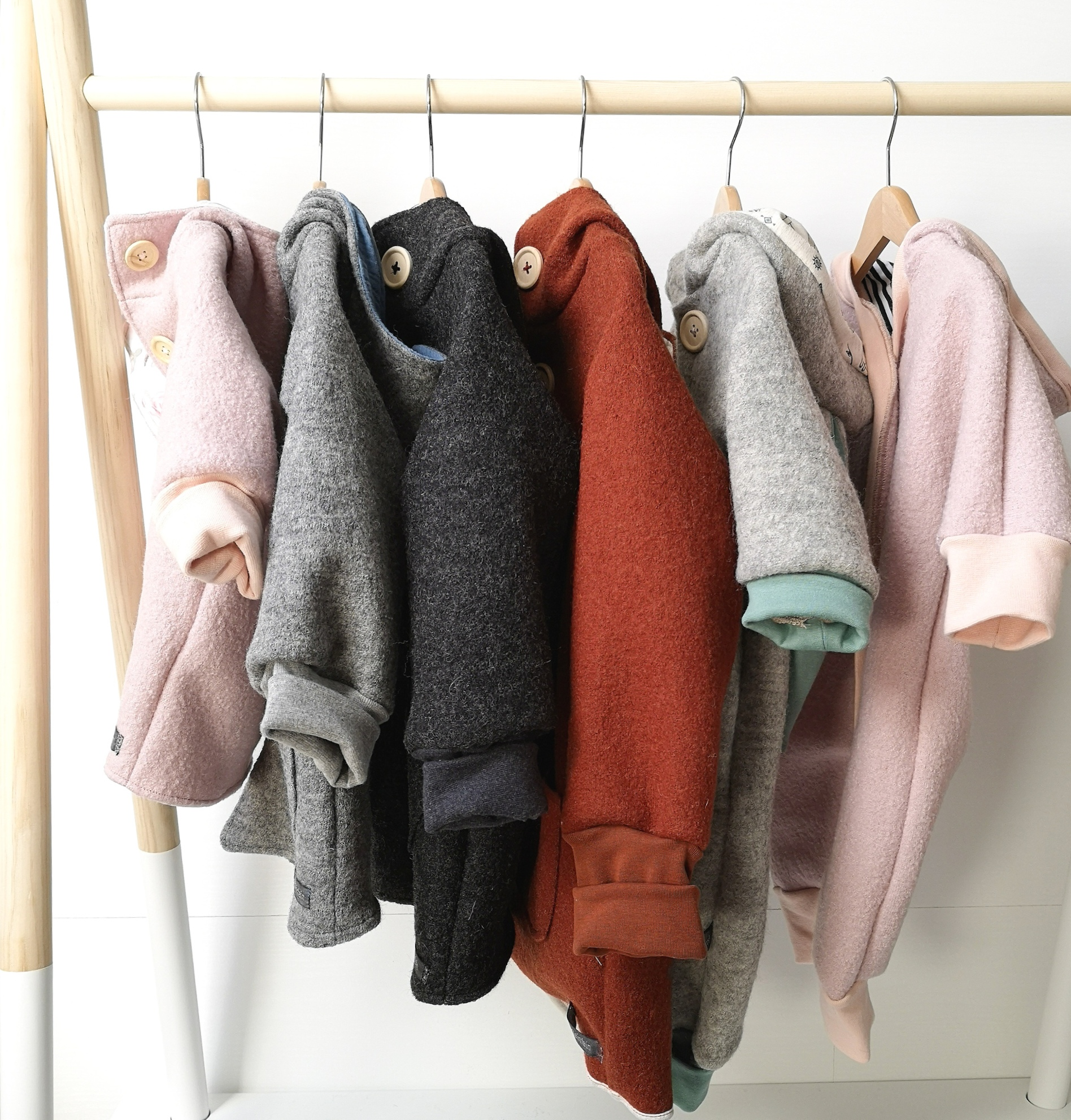 Viele neue Wollfarben