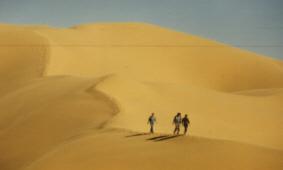 Dünen bei El Golea, Algerien
