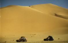 Dünen bei Hassi Messaoud, Algerien