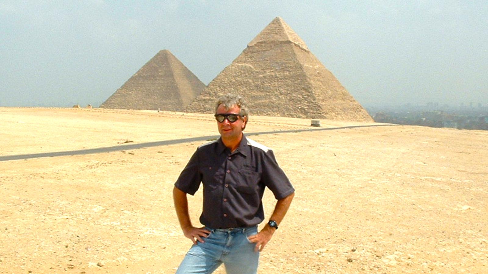 Bei den Pyramiden, Ägypten