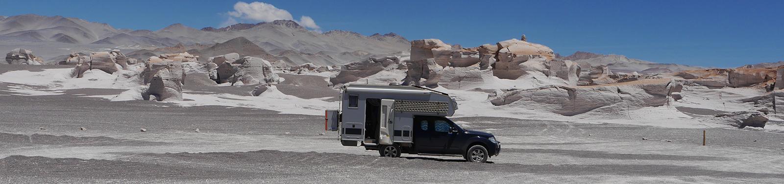 Campo de Piedra Pomez, Argentinien