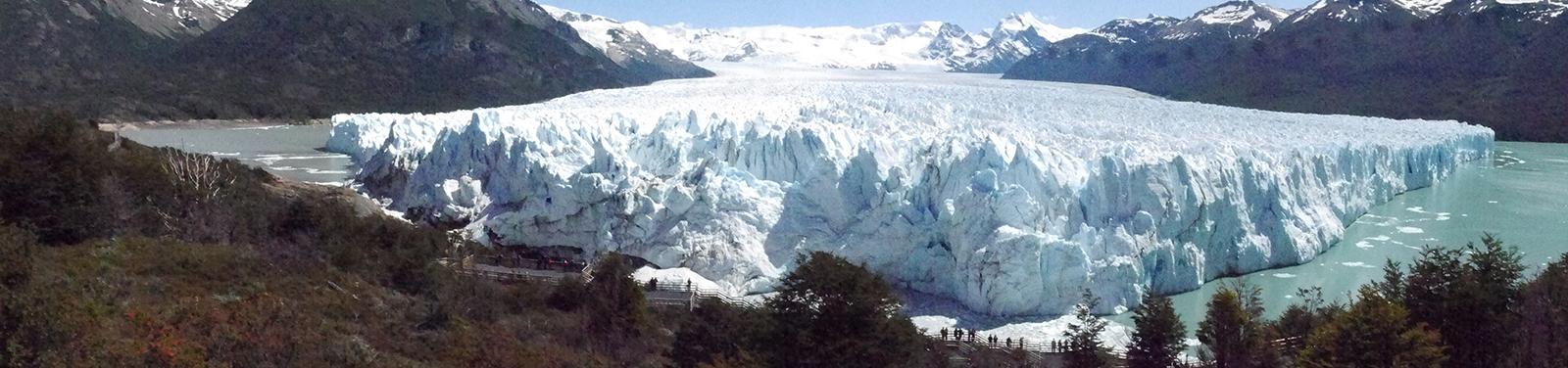 Glettscher Perito Merino, Parque Nacional de Glaciares, Argentinien