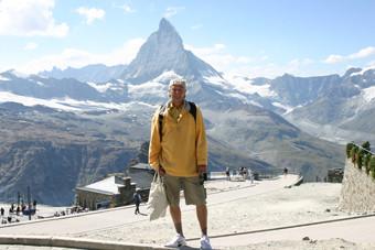 Beim Matterhorn, Schweiz