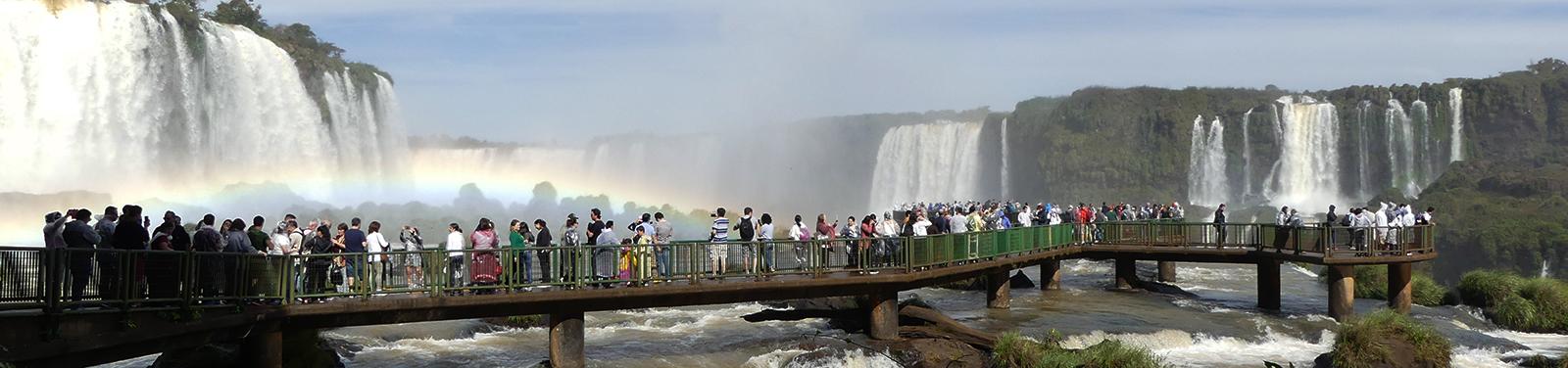 Wasserfall Iguacu, Brasilien
