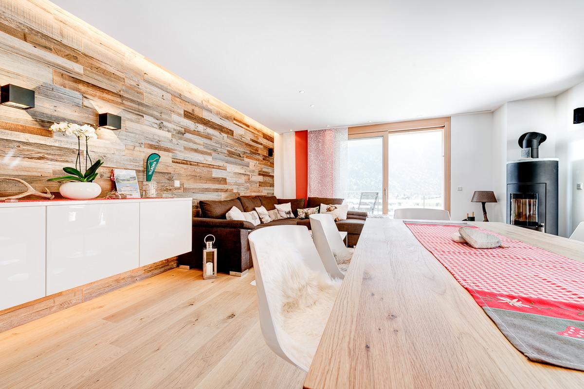 FeWo Zimbablick, Montafon, Vorarlberg - Wohnzimmer