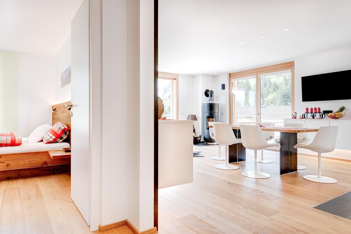 Appartement Zimbablick, Montafon, Vorarlberg - große Räume