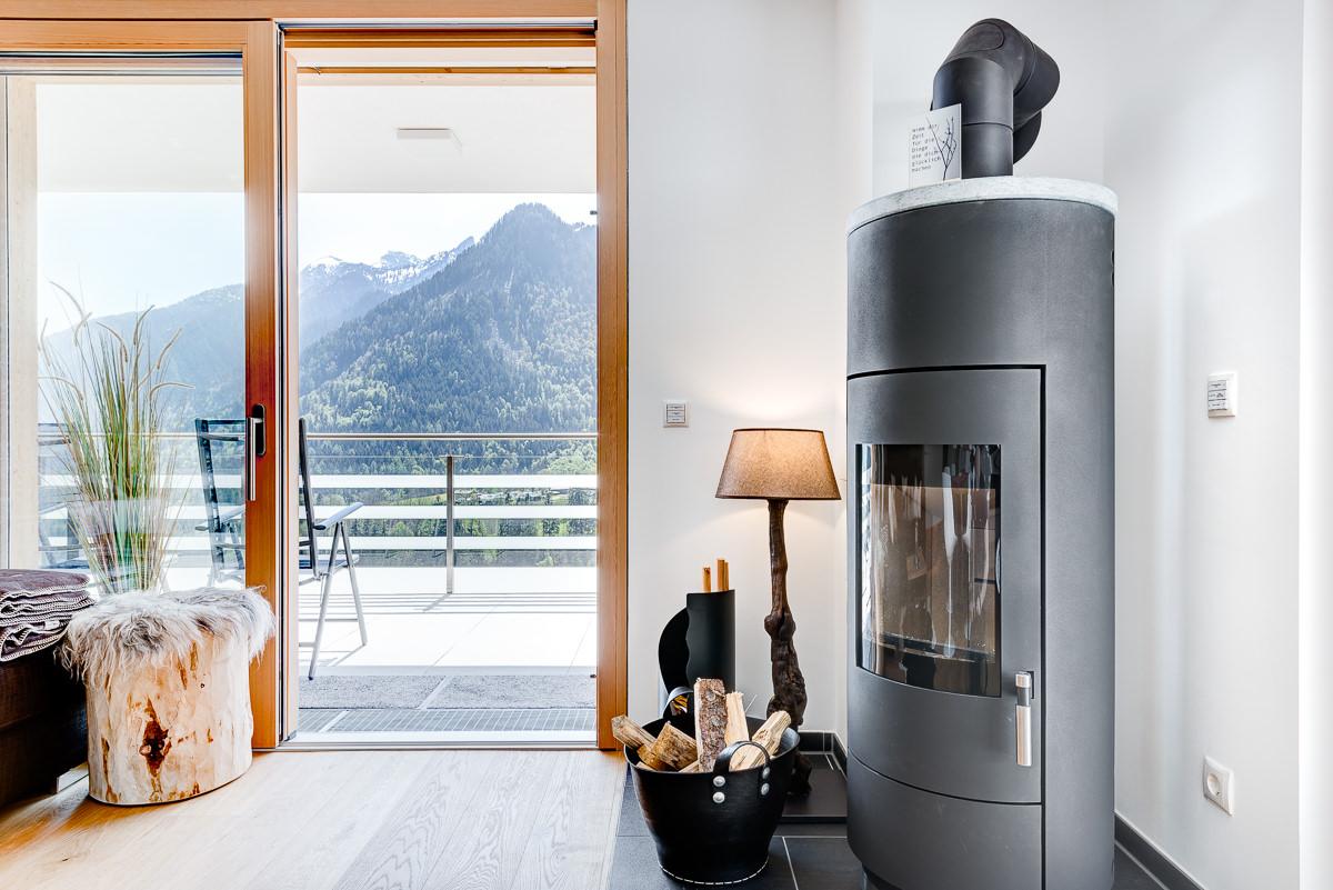 Appartement Zimbablick, Montafon, Vorarlberg - Kaminstunden, Holz inklusive