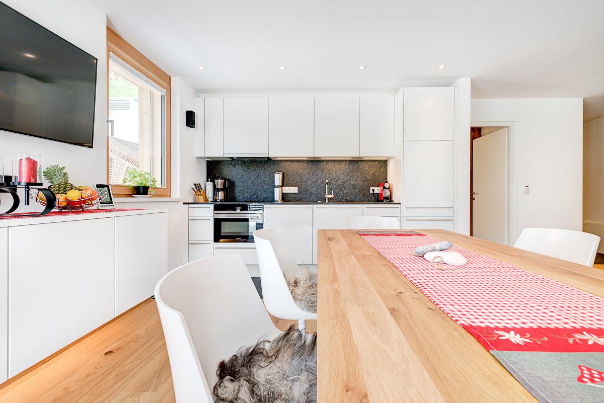 Appartement Zimbablick, Montafon, Vorarlberg - Wohn- und Esszimmer