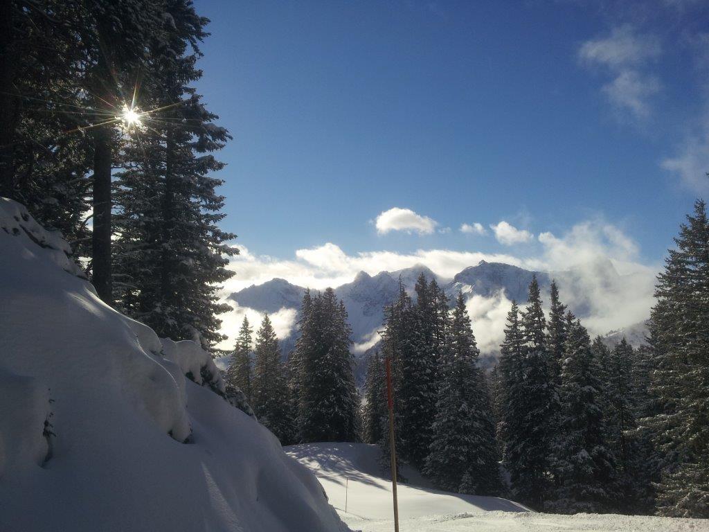 Appartement Zimbablick - Bürserberg Ski- und Winterwanderwege