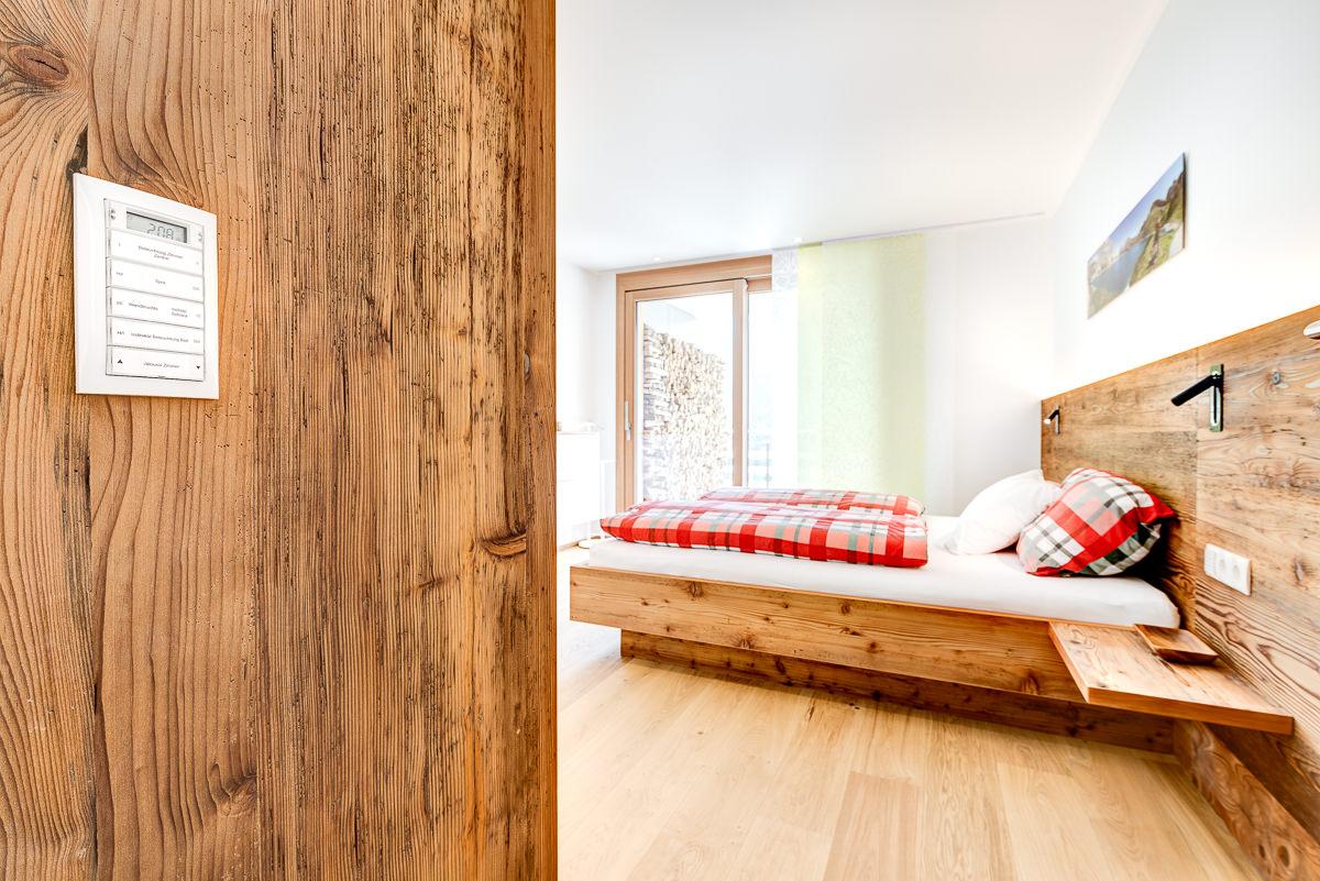 Appartement Zimbablick, Montafon, Vorarlberg - Schlafraum