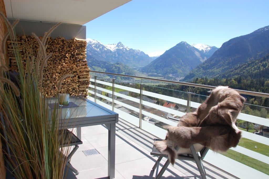 Zimbablick, Balkon