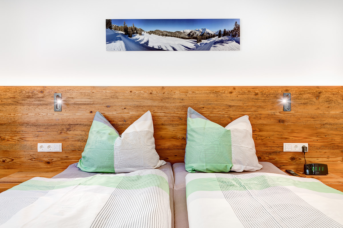 Appartement Zimbablick, Montafon, Vorarlberg - Schlafzimmer