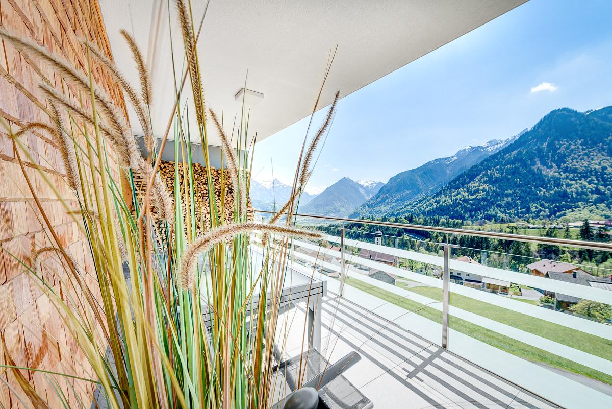 Appartement Zimbablick, Montafon, Vorarlberg - Südbalkon