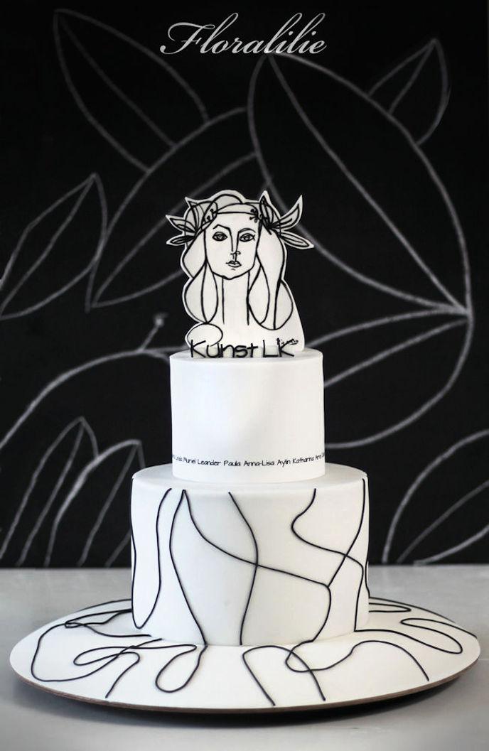 Picasso Torte  | Floralilie Sugar Art