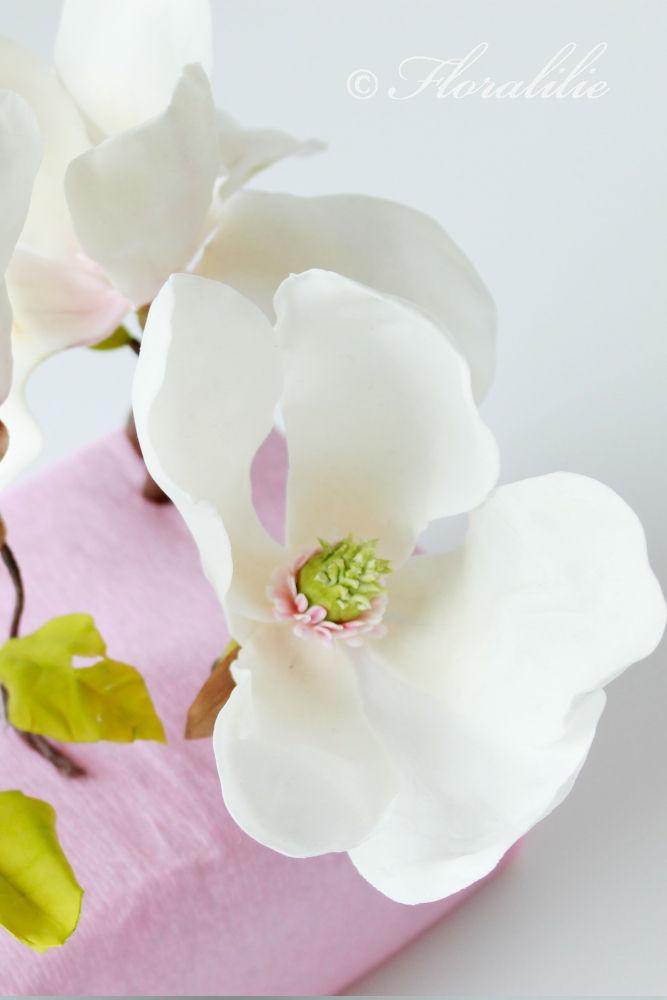 Zucker Magnolie | Floralilie Sugar Art