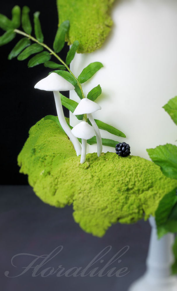 Secret Woodland Garden Cake | Floralilie Sugar Art