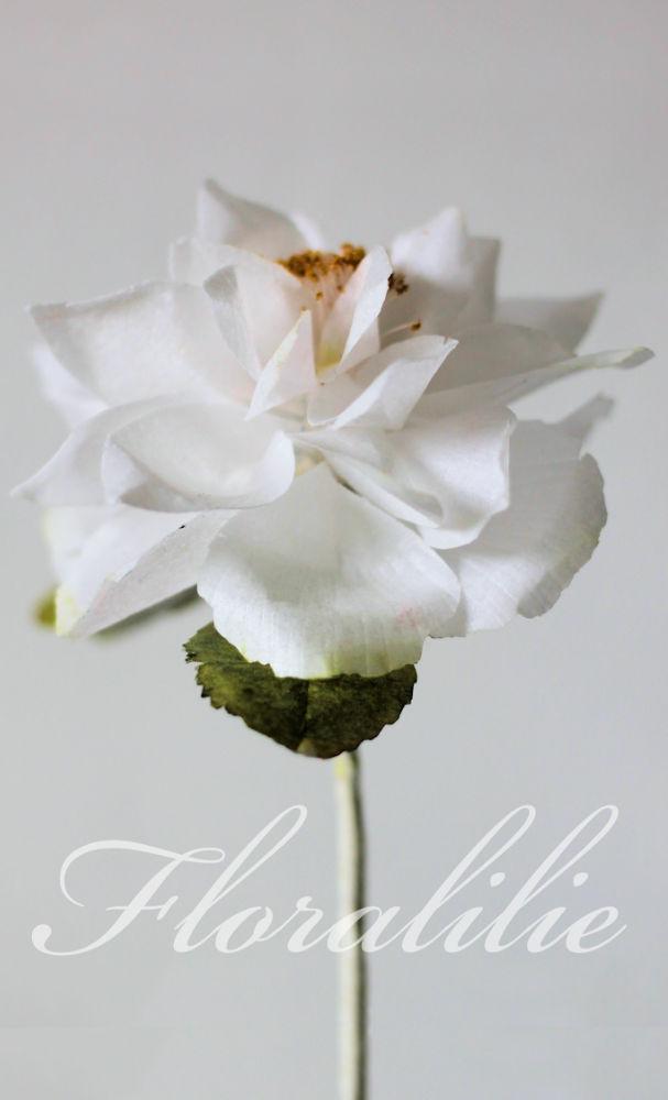 Wafer Paper Rose   Floralilie Sugar Art